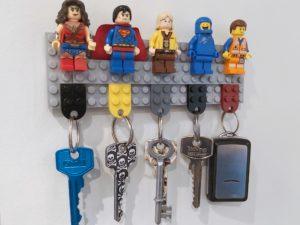 LEGO nøkkelholder
