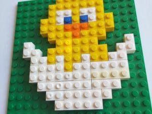 Påskemosaikk med LEGO