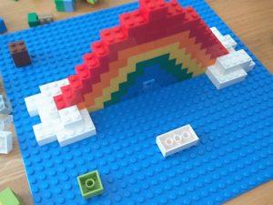 Bygg en LEGO Regnbue